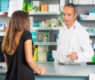 Pharmacist and Client in a Drugstore